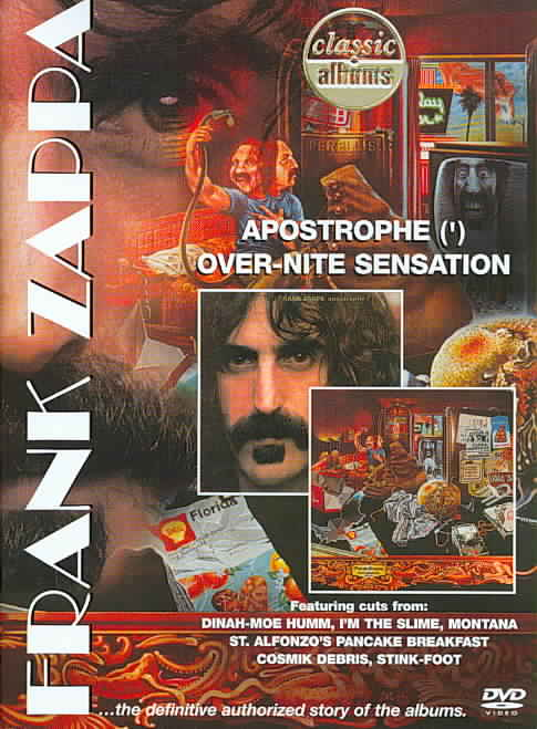 CLASSIC ALBUMS:APOSTROPHE/OVER-NITE S BY ZAPPA,FRANK (DVD)